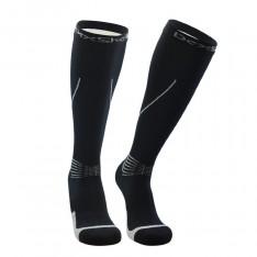 Водонепроницаемые носки Dexshell Mudder, черные с серыми полосками (DS635GRY)