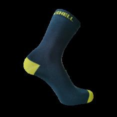 Водонепроницаемые носки DexShell Ultra Thin Crew, синий/желтый DS683NL